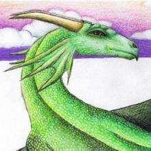 Ilustración : El dragón de Melodia