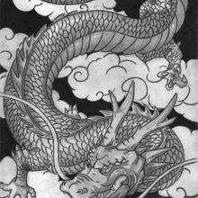 El dragón de Gustavo - Dibujar Dibujos - Dibujos de NIÑOS - Dibujos de ANIMALES - Dibujos de DRAGONES