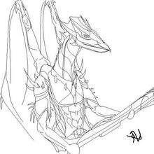 Ilustración : El dragón de Keila