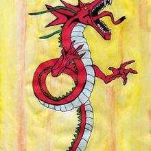 Ilustración : El dragón de Laura