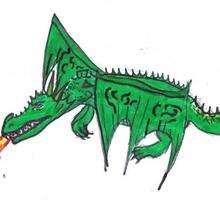 Ilustración : El dragón de Melia