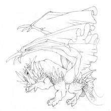 El dragón de Pedro - Dibujar Dibujos - Dibujos de NIÑOS - Dibujos de ANIMALES - Dibujos de DRAGONES