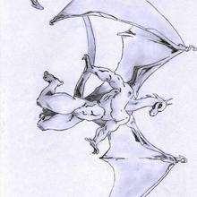 Ilustración : El dragón de Tania
