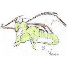 Ilustración : El dragón de Valentín