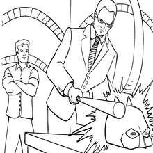 Bruce Wayne y Alfred - Dibujos para Colorear y Pintar - Dibujos para colorear SUPERHEROES - Dibujos para colorear BATMAN - Dibujos para colorear BRUCE WAYNE