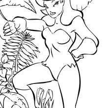 Hiedra Venenosa - Dibujos para Colorear y Pintar - Dibujos para colorear SUPERHEROES - Dibujos para colorear BATMAN - Dibujos para colorear BATMAN Y ROBIN