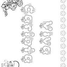 CARLOTA colorear nombre niña - Dibujos para Colorear y Pintar - Dibujos para colorear NOMBRES - Dibujos para colorear NOMBRES NIÑAS