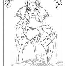 Dibujo para colorear : La reina Narissa