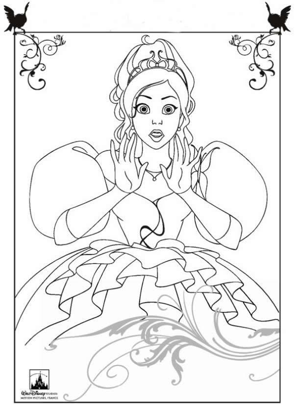 Lujoso Cuties Princesa Disney Para Colorear Composición - Dibujos ...