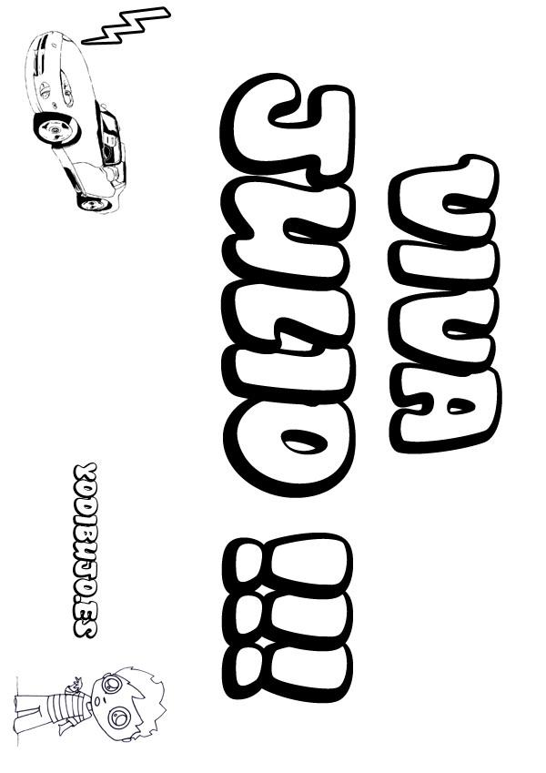 Dibujos para colorear javier - es.hellokids.com