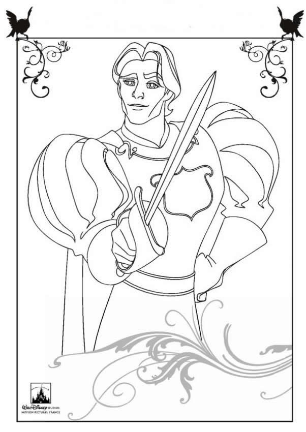 Dibujos para colorear príncipe edward - es.hellokids.com