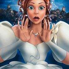 Dibujo para colorear : la princesa Giselle