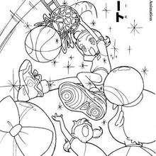 Baloncesto - Dibujos para Colorear y Pintar - Dibujos para colorear MANGA - Dibujos para colorear MAGICAL DOREMI - Dibujos para colorear MAGICAL DOREMI CAPITULO