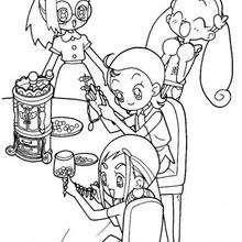 Joyas para niñas - Dibujos para Colorear y Pintar - Dibujos para colorear MANGA - Dibujos para colorear MAGICAL DOREMI - Dibujos para colorear gratis MAGICAL DOREMI