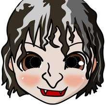 Manualidad infantil : Máscara de bruja
