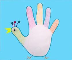 Dibujar un gallo - Dibujar Dibujos - Aprender cómo dibujar paso a paso - Dibujar dibujos ANIMALES - Dibujar animales CON TU MANO