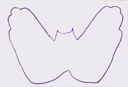 Dibujar un murciélago - Dibujar Dibujos - Aprender cómo dibujar paso a paso - Dibujar dibujos ANIMALES - Dibujar animales CON TU MANO