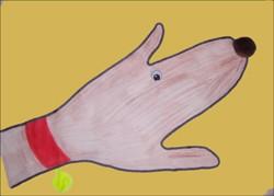 Dibujar un perro - Dibujar Dibujos - Aprender cómo dibujar paso a paso - Dibujar dibujos ANIMALES - Dibujar animales CON TU MANO