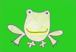 Dibujar una rana - Dibujar Dibujos - Aprender cómo dibujar paso a paso - Dibujar dibujos ANIMALES - Dibujar animales CON TU MANO