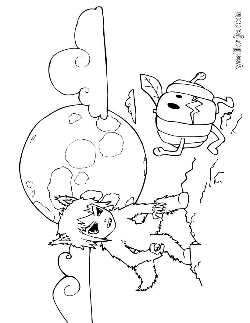 Excepcional Colorear Páginas Lobo Colección - Dibujos Para Colorear ...