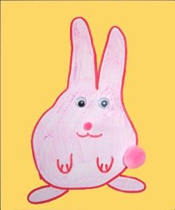 Dibujar un conejo - Dibujar Dibujos - Aprender cómo dibujar paso a paso - Dibujar dibujos ANIMALES - Dibujar animales CON TU MANO