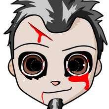 Manualidad infantil : Máscara de zombi