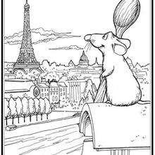 Remy la rata en Paris
