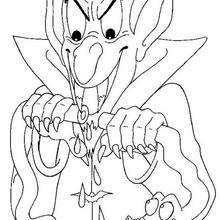 Dibujo de Dracula
