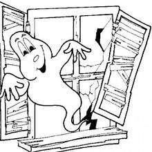 un fantasma de Halloween