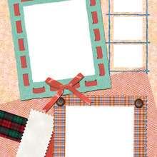 Nudos y tejidos - Manualidades para niños - Manualidades infantiles - Fabricar MARCOS DE FOTOS - Cumpleaños: Marcos de fotos