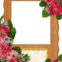 Manualidad infantil : Rosas y flores