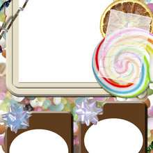 Manualidad infantil : Caramelos y chocolate