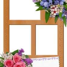 Bouquets de flores - Manualidades para niños - Manualidades infantiles - Fabricar MARCOS DE FOTOS - Cumpleaños: Marcos de fotos