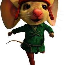 Imagen : Dibujo del ratón Despereaux