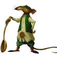 Dibujo de la rata Roscuro
