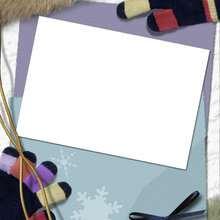 Enero - Manualidades para niños - Manualidades infantiles - Fabricar MARCOS DE FOTOS - Las 4 estaciones: Marcos de fotos