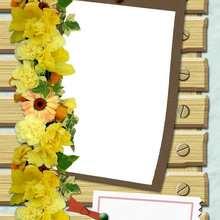 Junio - Manualidades para niños - Manualidades infantiles - Fabricar MARCOS DE FOTOS - Las 4 estaciones: Marcos de fotos