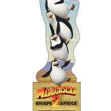 Marcador: los pingüinos - Manualidades para niños - Manualidades infantiles - Marcadores y letreros muy chulos - Marcadores de páginas : Madagascar 2