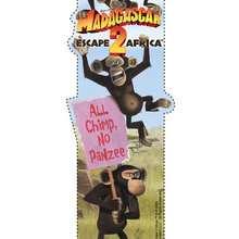 Marcador: los chimpancés - Manualidades para niños - Manualidades infantiles - Marcadores y letreros muy chulos - Marcadores de páginas : Madagascar 2