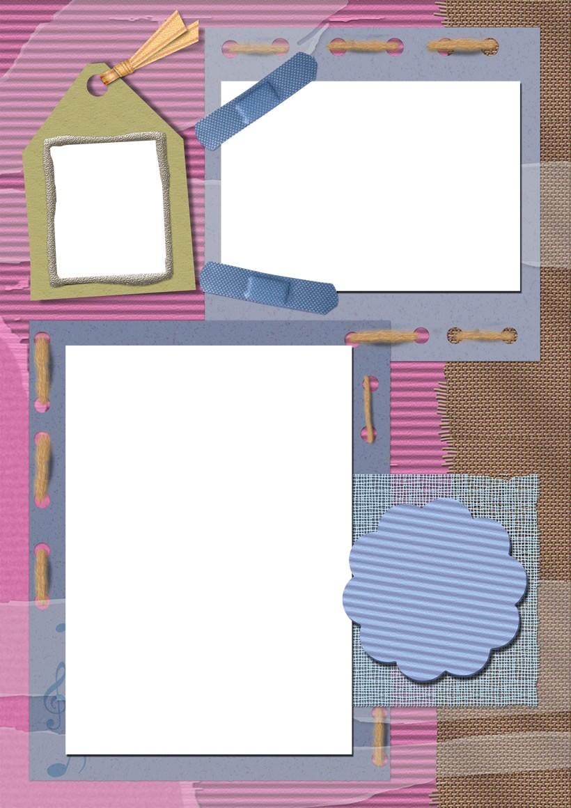 Actividades manuales de 3 fotos dia del padre lana rosa - es ...