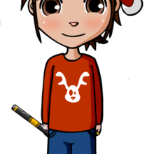 Dibujo Navidad NIÑO MAT - Dibujar Dibujos - Dibujos infantiles para IMPRIMIR - Dibujos de NAVIDAD para imprimir - Dibujos SANTA CLAUS