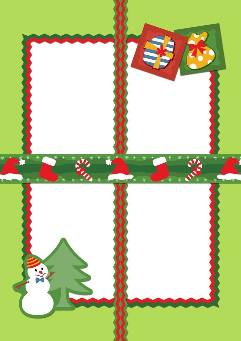 MARCOS DE NAVIDAD - 12 decoraciones de Navidad para hacer con niños