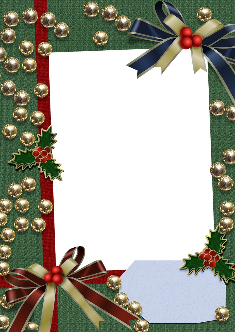 Especial de Navidad: Marcos navideños para fotografías