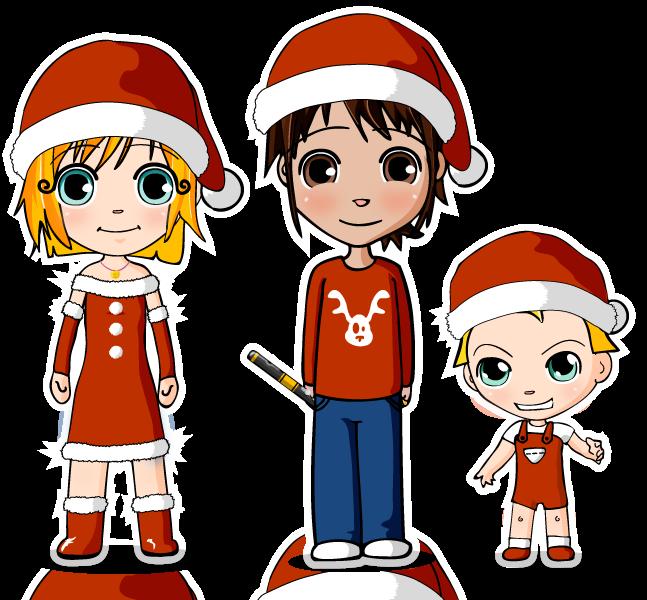 Dibujo Navidad SANTA CLAUS