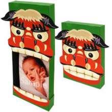 Manualidad infantil : Papiroflexia marco fotos dragon