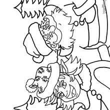 Dibujo de Santa Claus para colorear - Dibujos para Colorear y Pintar - Dibujos para colorear FIESTAS - Dibujos para colorear de NAVIDAD - Dibujos para colorear SANTA CLAUS - SANTA CLAUS pintar