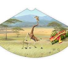 Sombrero de Melman la jirafa - Manualidades para niños - Manualidades infantiles - Sombreros de Madagascar 2