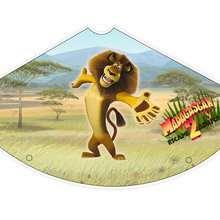 Manualidad infantil : Sombrero de Alex el león