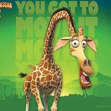 Fondo de Melman la jirafa - Dibujar Dibujos - Dibujos para DESCARGAR - FONDOS GRATIS - Fondos e íconos: Madagascar 2