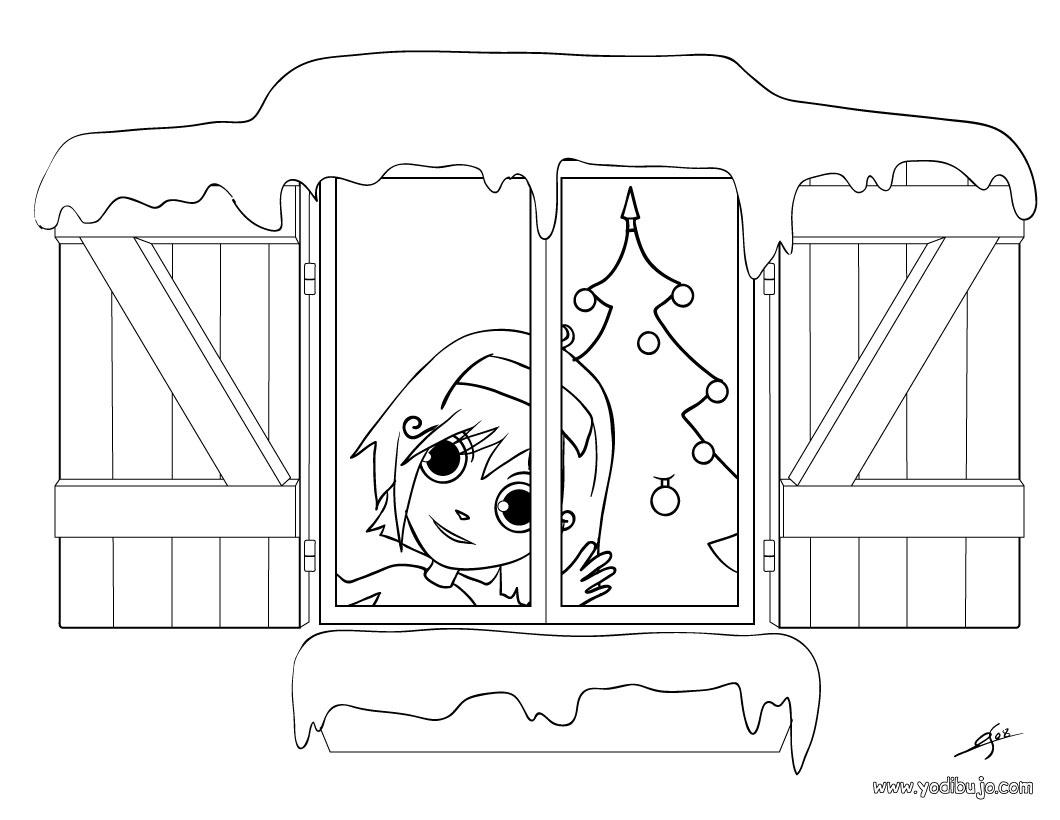 Dibujos para colorear montaña de regalos - es.hellokids.com